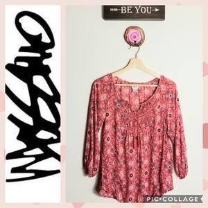 🤩Coral Pink Flowy Top